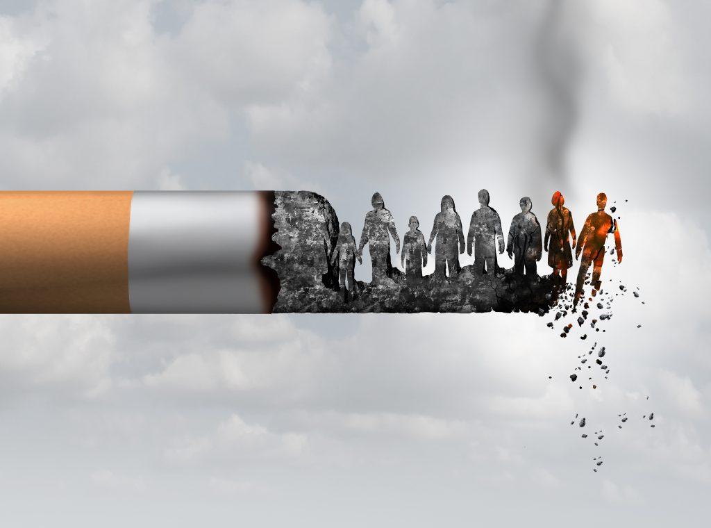 ne laissez pas la vie est se consumer comme une cigarette